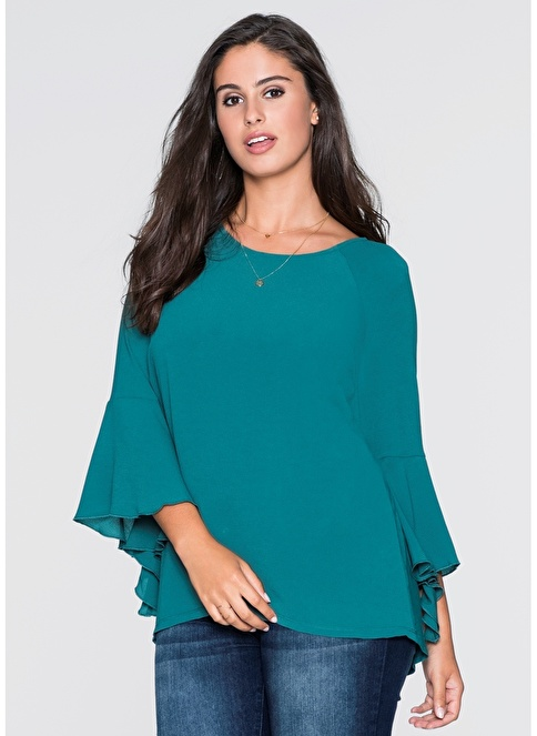 Bonprix Express Bluz Yeşil